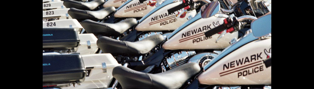 Newark Police Department Motorcycle Fleet Police vehicle lease